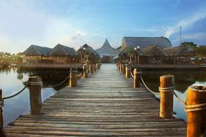 kolam pancing kampung laut semarang