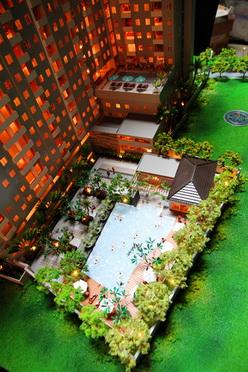 apartemen mutiara garden kolam renang