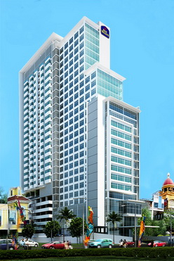 rendering gambar best western star hotel apartment