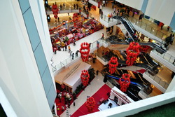 desain modern mall paragon