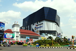 mall paragon city exterior