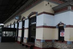 Bangunan kuno museum kereta api ambarawa