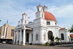 gereja blenduk semarang kota lama