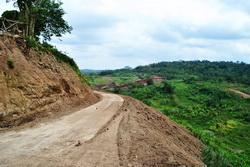 jalan baru proses pembangunan waduk jatibarang