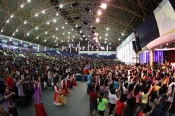 jemaat di holy stadium semarang
