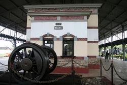Di satu sudut Museum Kereta Api