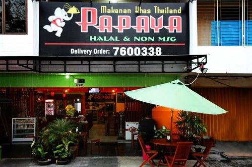 papaya thailand resto semarang