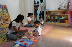 Hari pertama di Sekolah Kiddie land