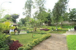 Herbal plantation tour taman jamu indonesia