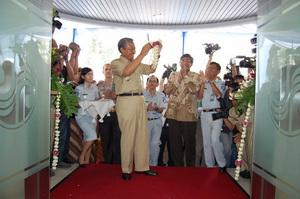 peresmian kantor cabang jasa raharja jawa tegah oleh gubernur bibit waluyo
