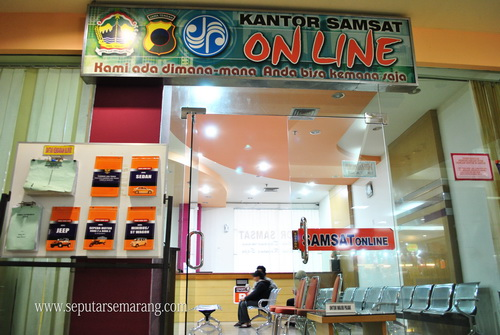 Kantor Samsat Online DP Mall