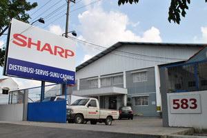 sharp semarang service center