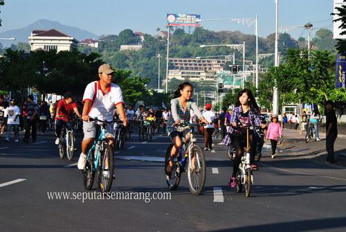 Car Free Day Simpang Lima – Pahlawan