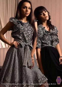 Foto koleksi batik danar hadi