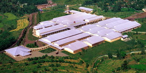 Gambar Foto udara Pabrik Jamu Sidomuncul