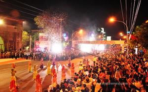 Kembang api Perayaan ulang tahun 465 Semarang
