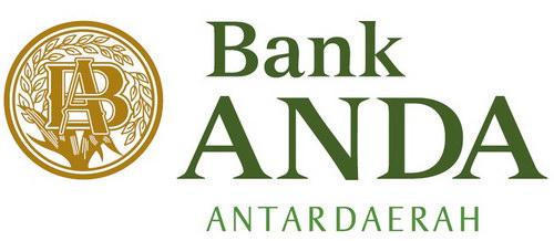 Logo Bank Antar Daerah, Bank Anda