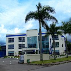 Foto pabrik besar indomilk