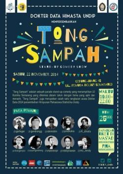 """Tong Sampah"" Parade Stand Up Show Kota Semarang"