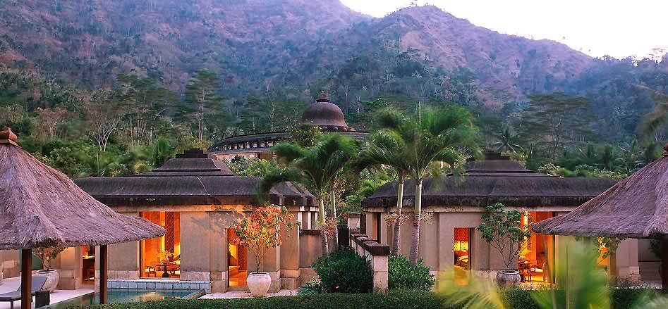 Image result for gambar hotel amanjiwo