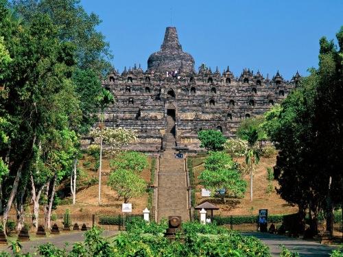 Foto Obyek Wisata Candi Borobudur