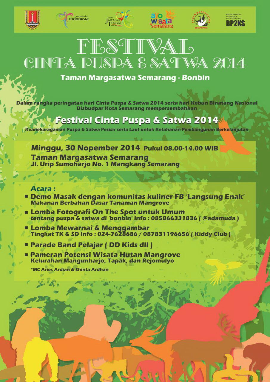 Festival Cinta Puspa Satwa 2014