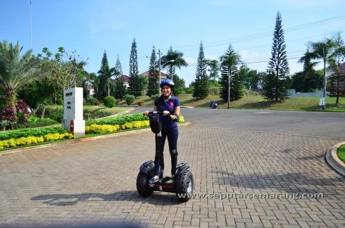Tempat Sewa dan Arena Bermain Segway di Semarang BSB