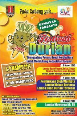 Festival Durian Semarang 2015