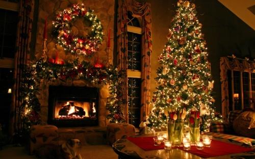 Foto pohon natal keren