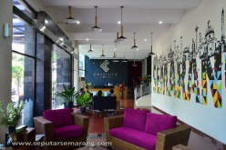 Lobby area hotel