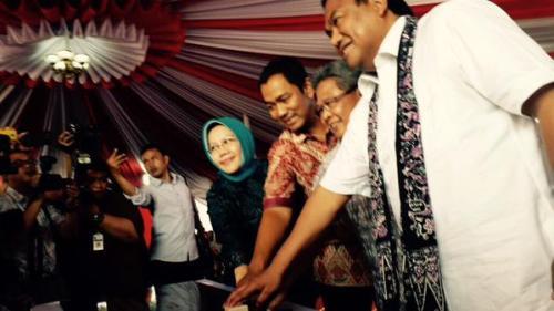 Peresmian Pasar Bulu Semarang
