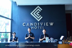 Receptionist Hotel Candi View Semarang